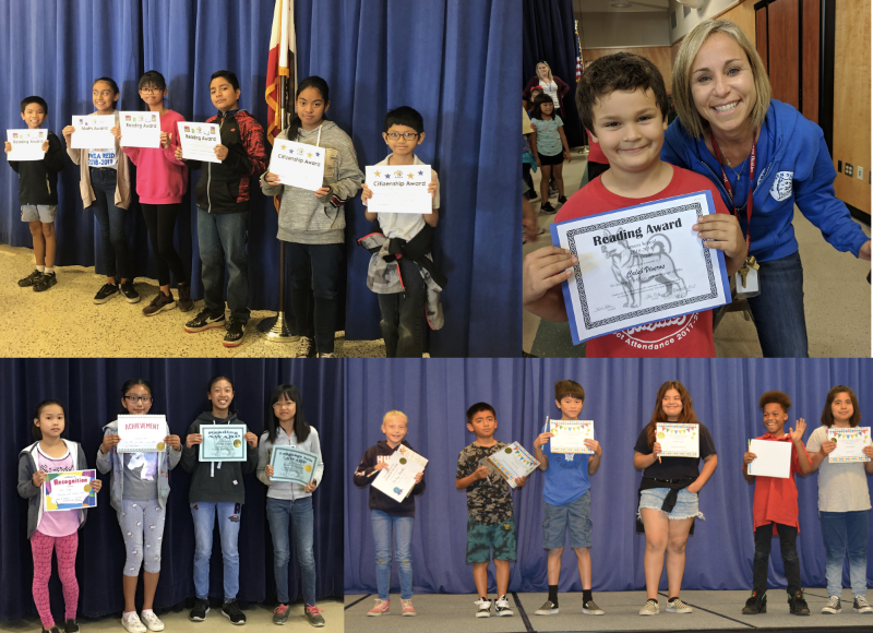 1st Trimester Awards Assembly @ Cerritos School